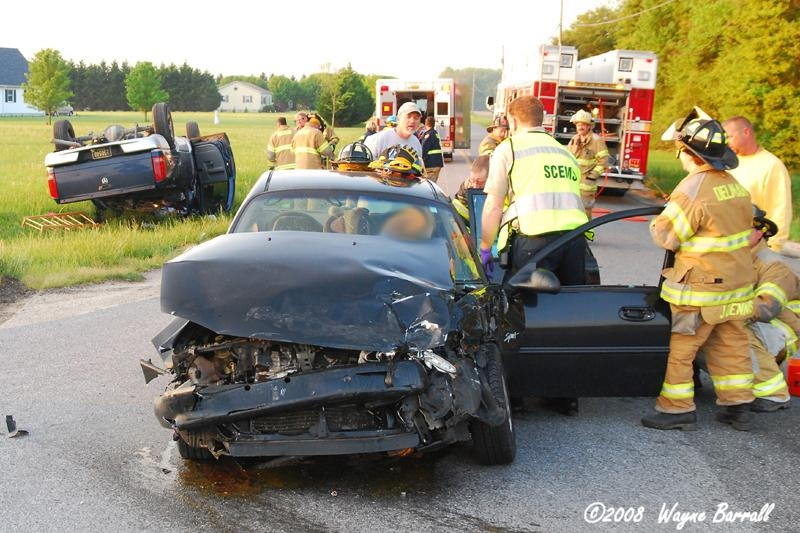 Accident w/ Rescue – Delmar Del  – Delmarva Fire Photography