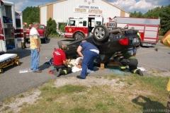 Accident W Rollover Amp Rescue Hebron Md Delmarva Fire
