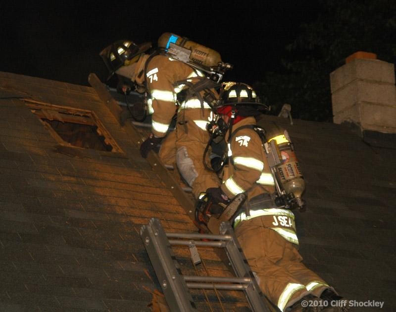 House Fire Center Street Laurel Delmarva Fire